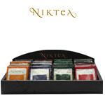 Деревянный дисплей для чайных пакетиков NikTea
