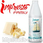 Белый Шоколад топпинг Impresto